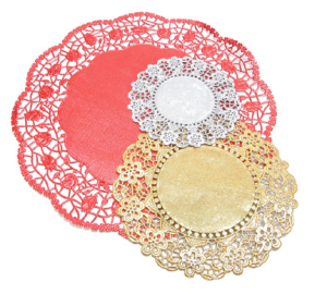 Doilies are the new black.